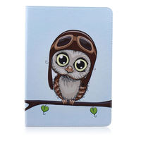 leather flip Case for Samsung Galaxy Tab S T800 T805 10.5 inch, Fashion Owl Tree Painted Flip PU Leather Cover for Galaxy SM-T800 T805 Tablet (3)