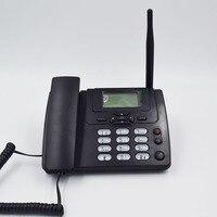 GSM 900 1800MHz Support SIM Card Fixed Phone With FM Radio Call ID Handfree Landline Phone