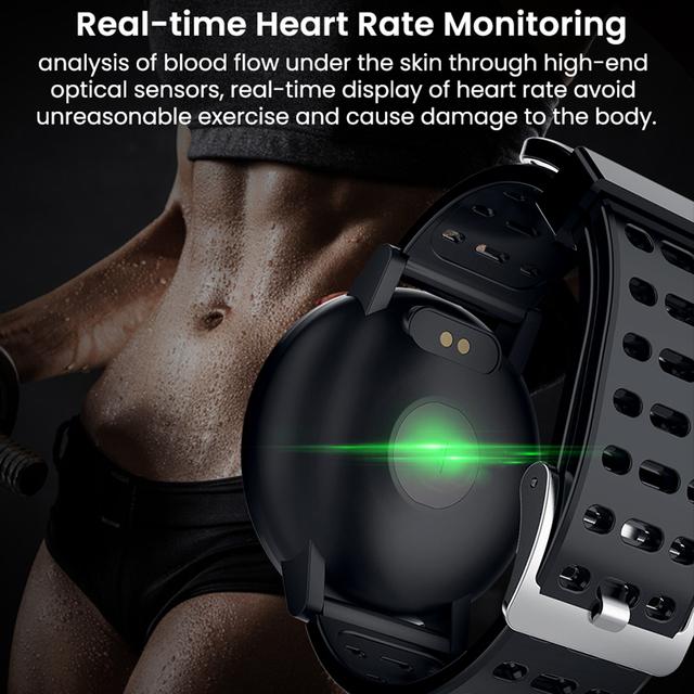 Makibes T3 IOS Android Smart Watches Men Women HR Blood Oxygen Blood Pressure IP67 Waterproof Activity Fitness Tracker PKV11