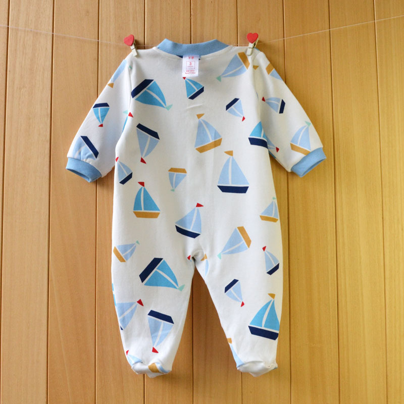 17 New spring cartoon baby rompers cotton 100% girls and boys clothes long sleeve romper Baby Jumpsuit newborn baby Clothing 23