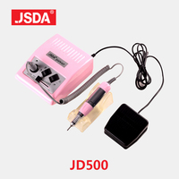 Special Counter JSDA JD500 35w Electric Nail Drills Machine professionals Manicure tools file bit Nails Art Equipment 30000rpm