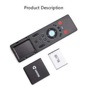 Image 4 - VONTAR T6 Plus Backlit 2.4Ghz chuột Bàn Phím Không Dây mini & Bàn di chuột Điều Khiển từ xa dành cho Android TV Box Mini máy Chiếu cho PC