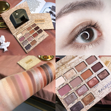 Makeup Glitter Eyeshadow Pallete Shimmer Matte Eye shadow Palette Smoky Earth Color Pigment Eyeshadow Powder Palette Cosmetics цена