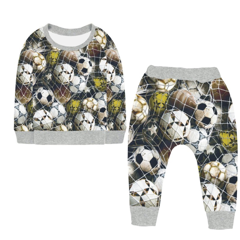 boy set s football Kids Clothing baby clothing set s
