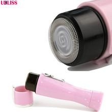 UKLISS Portable Useful Washable Mini Electric Shaver Female Epilator Women Hair Removal Machine Beauty Health Tool