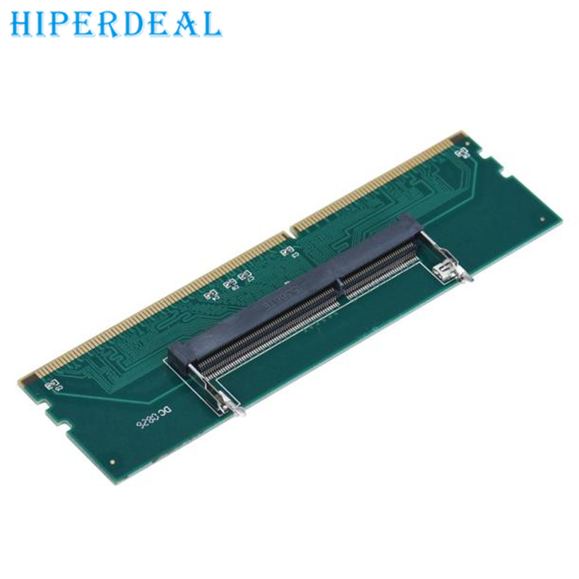 HIPERDEAL Advanced Adapter  DDR3 Laptop SO-DIMM to Desktop DIMM Memory RAM Connector Adapter DDR3 2017 drop shipping 1pc