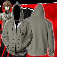 Game Persona 5 3D Print Goro Akechi Cosplay Hoody Hip Hop Sweatshirts Hooded Casual