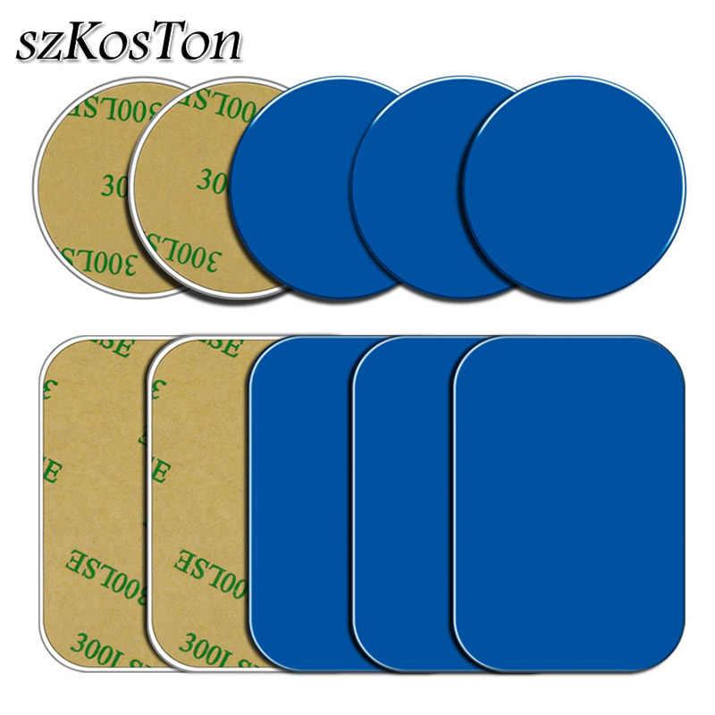 10 Pcs/5 Pcs/1 PC Pelat Logam Disk untuk Pemegang Ponsel Magnetik Mobil Pelat Logam Sticker Besi lembar untuk Magnet Ponsel Berdiri Mount
