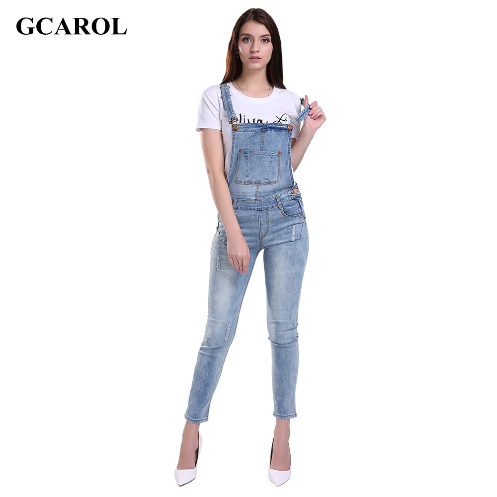 Online Buy Wholesale denim jumpsuit from China denim jumpsuit ...