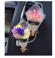 1 Piece Car Styling Eternal Flower Air Conditioning Outlet Perfume Decorative Aromatherapy Container