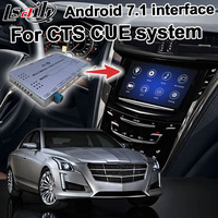 Android GPS navigation box for Cadillac CTS etc video interface mylink CUE intellilink system with wireless Carplay