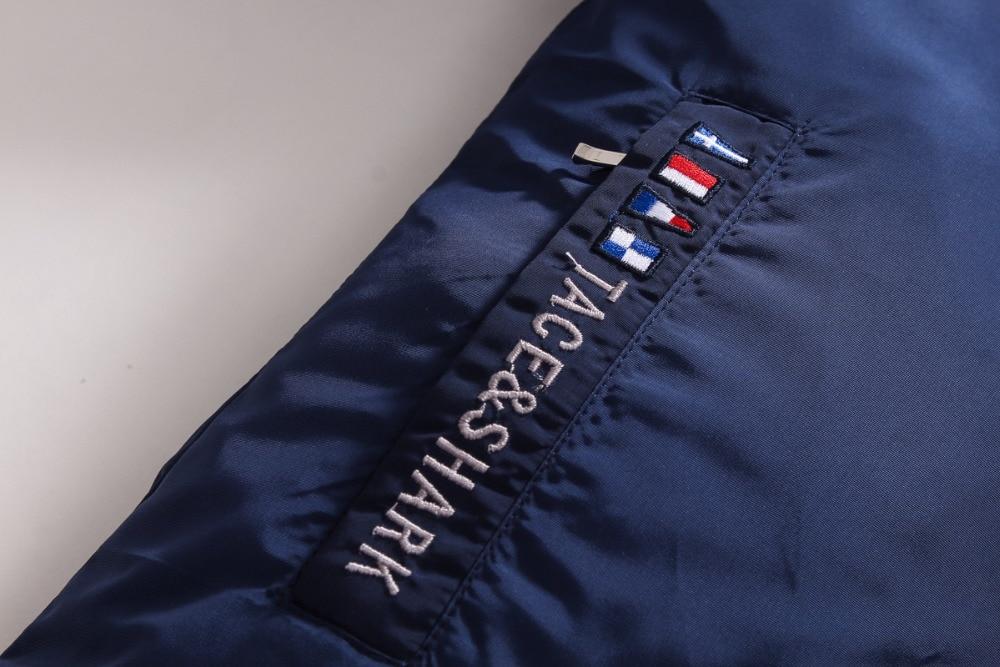Original Brand Mens Jacken Und Mäntel Luxus Tace & Shark Stickerei - Herrenbekleidung - Foto 6