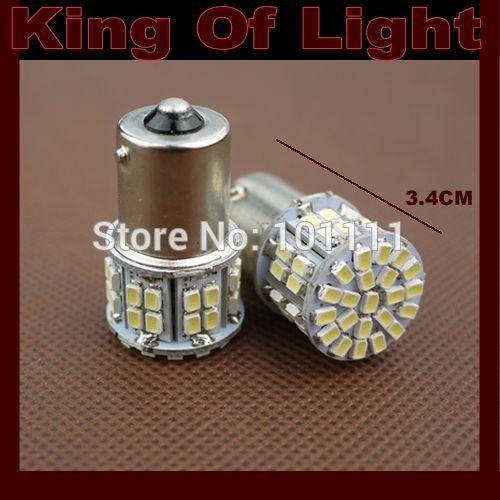 100x High quality Free shipping car led s25 p21w ba15s 50smd 1156 50 leds smd 3020 1206 Turn light bulb lamp WHITE Free shipping