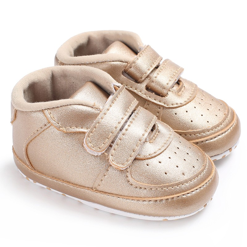 Newborn Baby Boys Leopard Solid First Walkers Sneakers Shoes Toddler Classic Casual Shoes Anti-slip First Walkers Shoes For Baby
