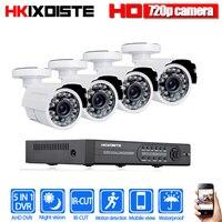 4CH CCTV System 1080P HDMI 1080N 5 IN 1 AHD CCTV DVR 4PCS 1.0 MP IR Outdoor Security Camera 2000 TVL Camera Surveillance Kit