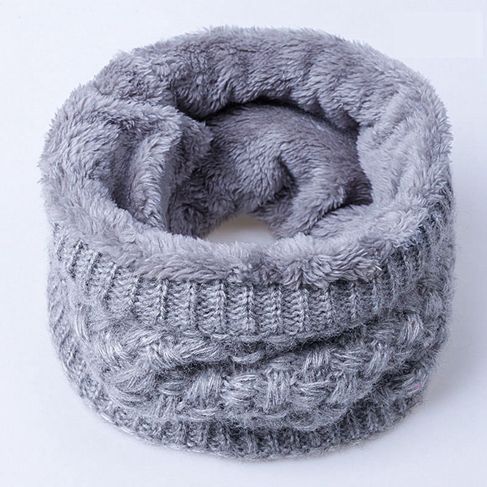 Apparel Accessories Girl's Accessories Adroit 2018 Fashion Winter Scarf For Women Men Children Baby Scarf Thickened Wool Collar Scarves Boys Girls Neck Scarf Cotton Unisex