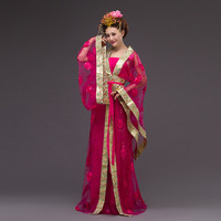 Hanfu Traditional Chinese Dress Tang Dynasty Royal Clothing Cosplay Oriental Dance Costumes Women Ancient Chinese Dance Costumes