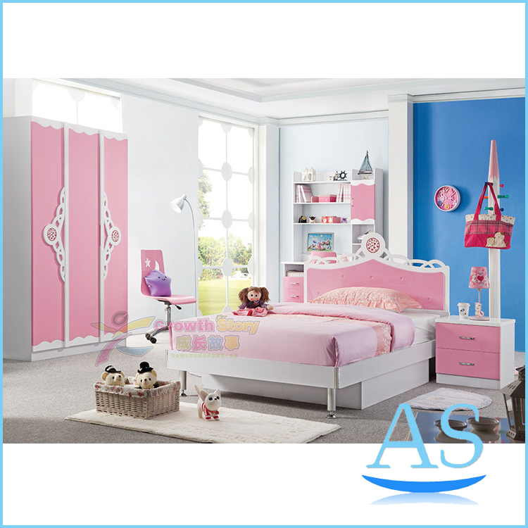 2015 China modern lovely kids bedroom furniture girls ...
