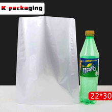 5 pcs Foil Pouches 22x30cm High Temperature Boiling Aluminium Bag Large Food Packaging Bags Vacuum Foil Pouches