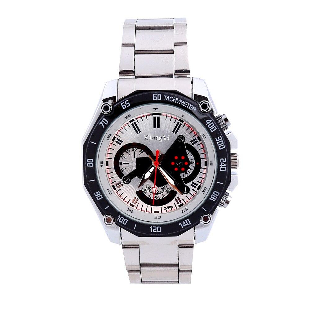 2016 Luxury Men's Watches Top Brand Luxury Fashion Sport Stainless Steel quartz-watch Male Analog Wrist Watch Relogio Masculino