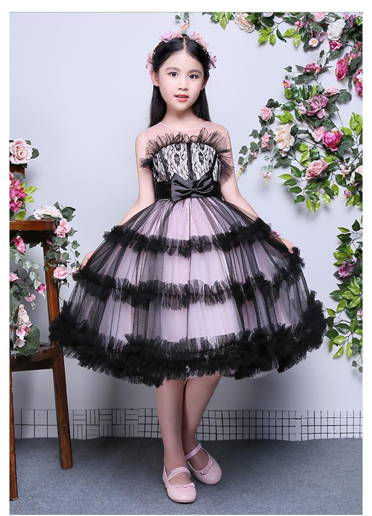 Royal 2018 Ball Gown Princess Flower Girls Dress Shoulderless Appliques Backless Kids Pageant Dress For Birthday