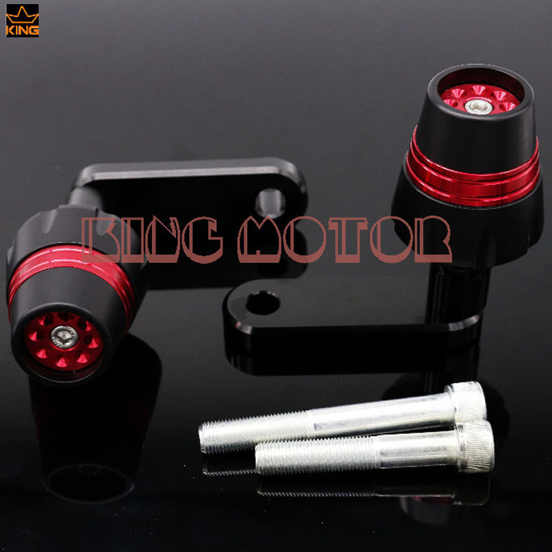 For HONDA NC700 NC700S NC700X 2012-2013 NC750 NC750S NC750X Motorcycle CNC Frame Sliders Crash Protector Falling Protection Red купить