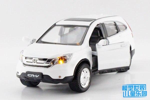 Подарок для ребенка 1 шт. 16 см 1:32 акустооптические Honda CRV деликатный сплава автомобиля отступить модель украшения дома мальчик детей игрушки