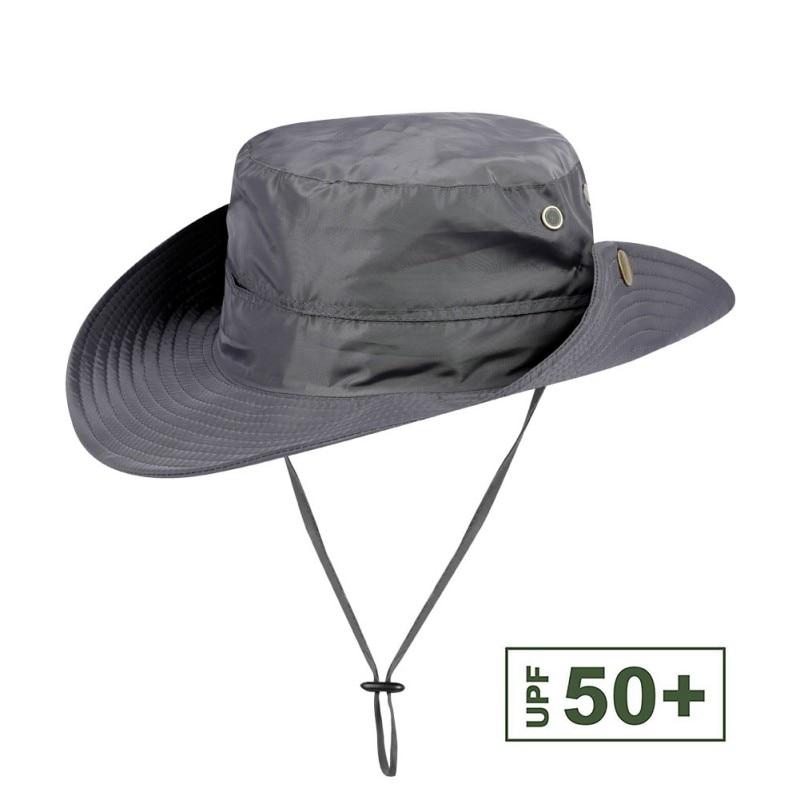 Outdoor Fishing Hat Solid Sunshade 50+UPF Soft Fishing Cap bucket Fisherman Hat with Changable Elastic Band Hats