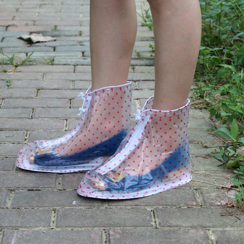 Waterproof Rain Reusable Shoes Covers, All Seasons Slip-resistant Rain Boot Overshoes, Men&Women's Shoes Accessories