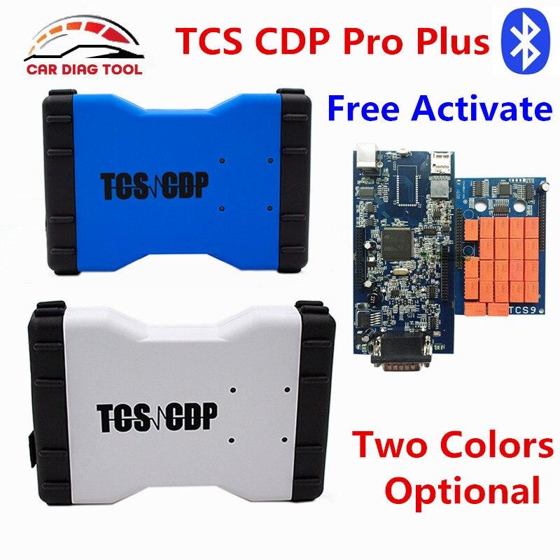 Prix pour Nouvelle Arrivée 2014. R3 TCS CDP Pro Plus Avec Bluetooth Nouveau VCI TCS Scanner OBD2 Diagnostic Etc Ainsi Voitures et Camions et Générique 3 en