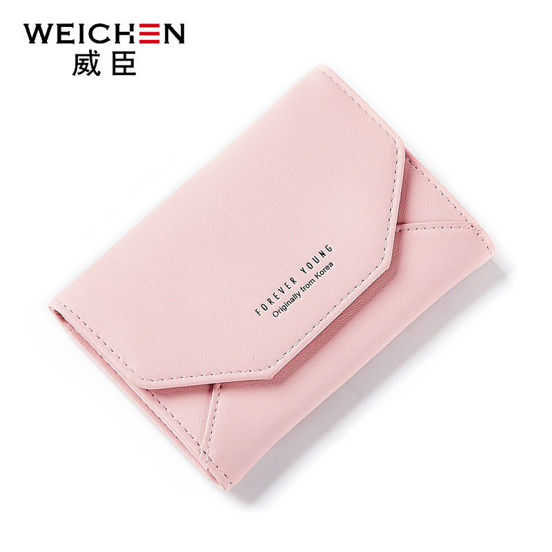 2017 new creative women wallet Multifunctional Magic PU Leather casual cute women mini Wallet coin purses solid color change