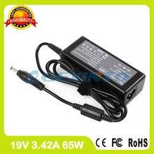 19 v 3.42a 65 w adaptador ac carregador portátil para toshiba 67bw0730197 dynabook cx/45f/g/h/j/k cx/47f/g/h