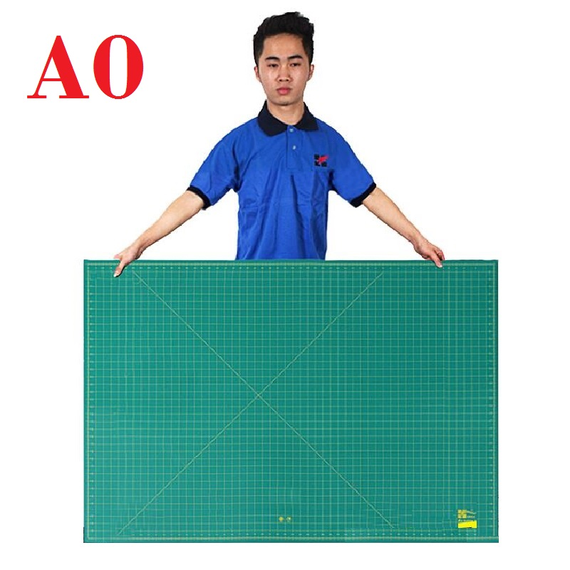 "A0 Cutting Mat Super Large Cutting Plate Engraving; Durable Cutting Board For Craft British System Inch Unit 46"" X 34"""