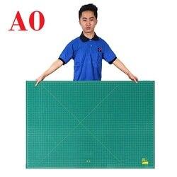 Tapete de corte A0 grabado de placa de corte supergrande; tabla de corte duradera para la Unidad de pulgadas del sistema británico de la artesanía 46