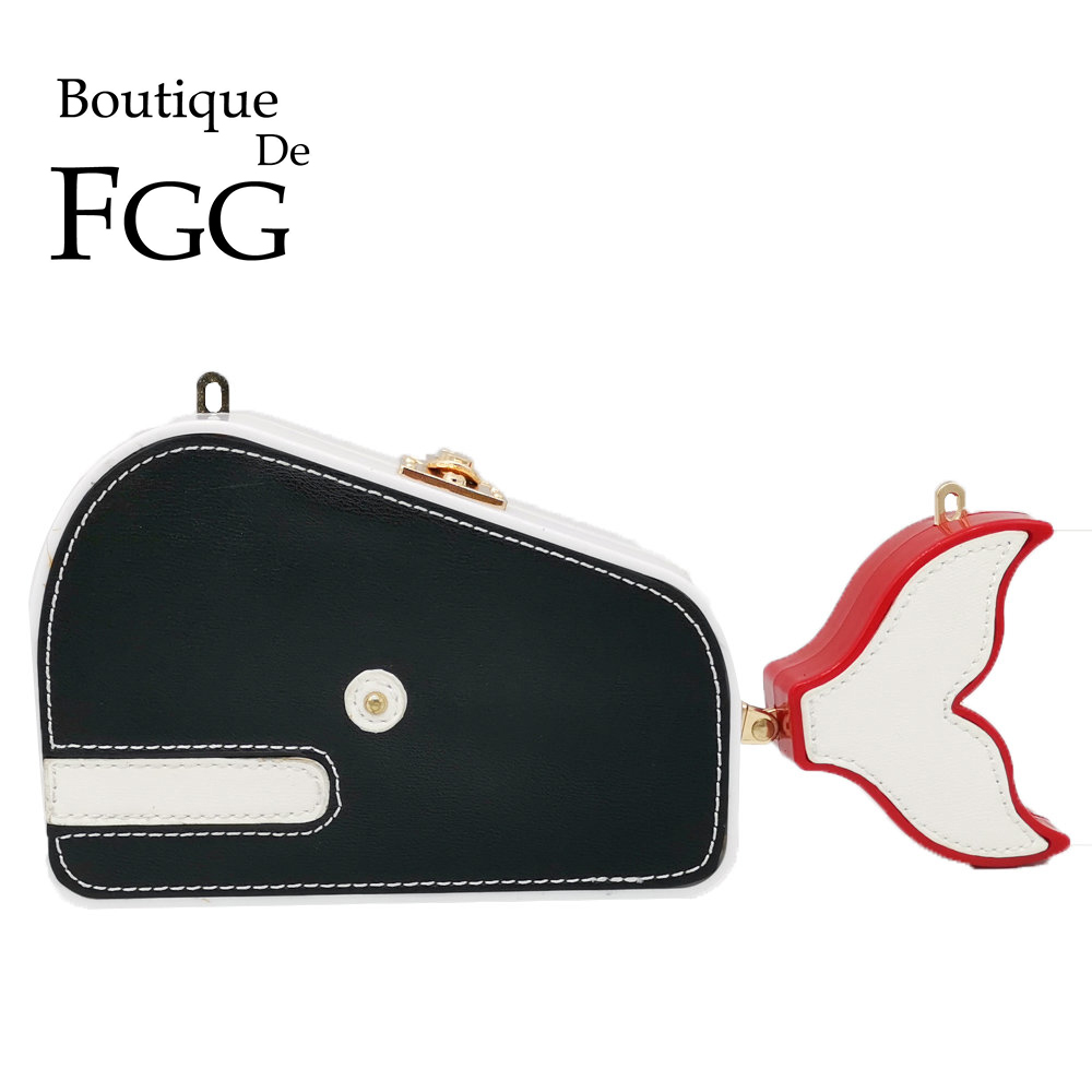 Boutique De FGG Crab\Cat\Duck\Dog\Elephant\Whale Women Casual Messenger Bags Ladies Small Crossbody Bag Chain Shoulder HandbagBoutique De FGG Crab\Cat\Duck\Dog\Elephant\Whale Women Casual Messenger Bags Ladies Small Crossbody Bag Chain Shoulder Handbag