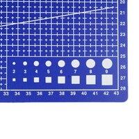 1 шт. A3 ПВХ прямоугольные линии сетки режущий коврик инструмент пластиковые инструменты для рисования 45 см * 30 см