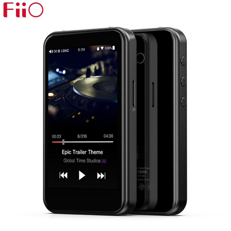 FiiO M6 Hi-Res Android Based Music Player With AptX HD, LDAC HiFi Bluetooth, USB Audio/DAC,DSD Support And WiFi/Air Play