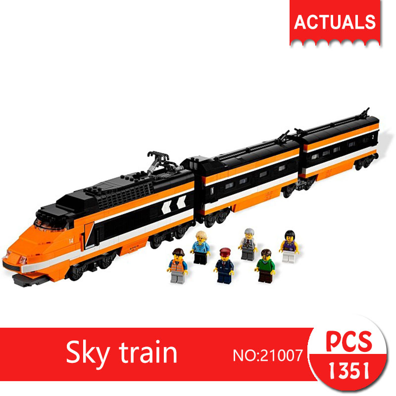 Lepin 21007 1351Pcs Technic Series  Sky train  Building Blocks   Bricks Toys For Children Gift бокорезы brigadier 21007