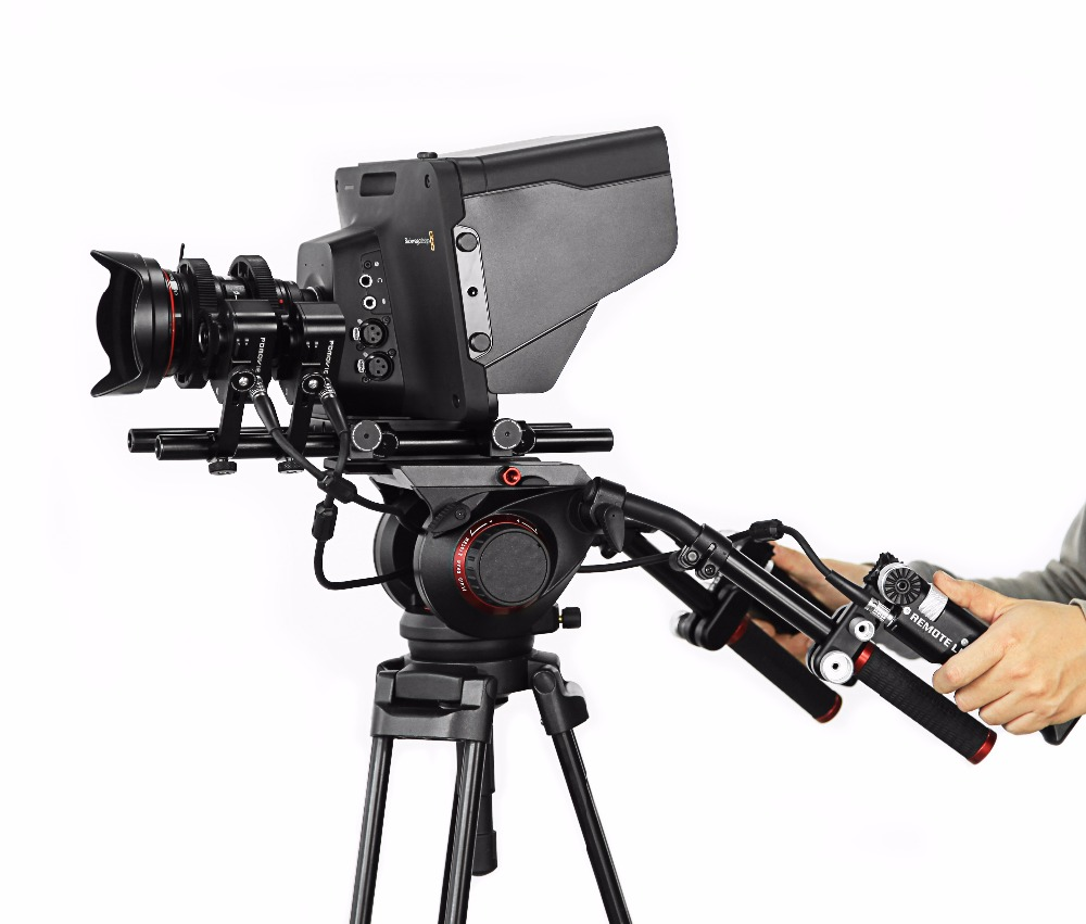 PDMOVIE Broadcast ENG Lens Zoom Control Motorized follow focus for Dslr Camera Shoulder Rig DJI RONIN 3-Axis Gimbal Stabilizer oom control for eng lenses