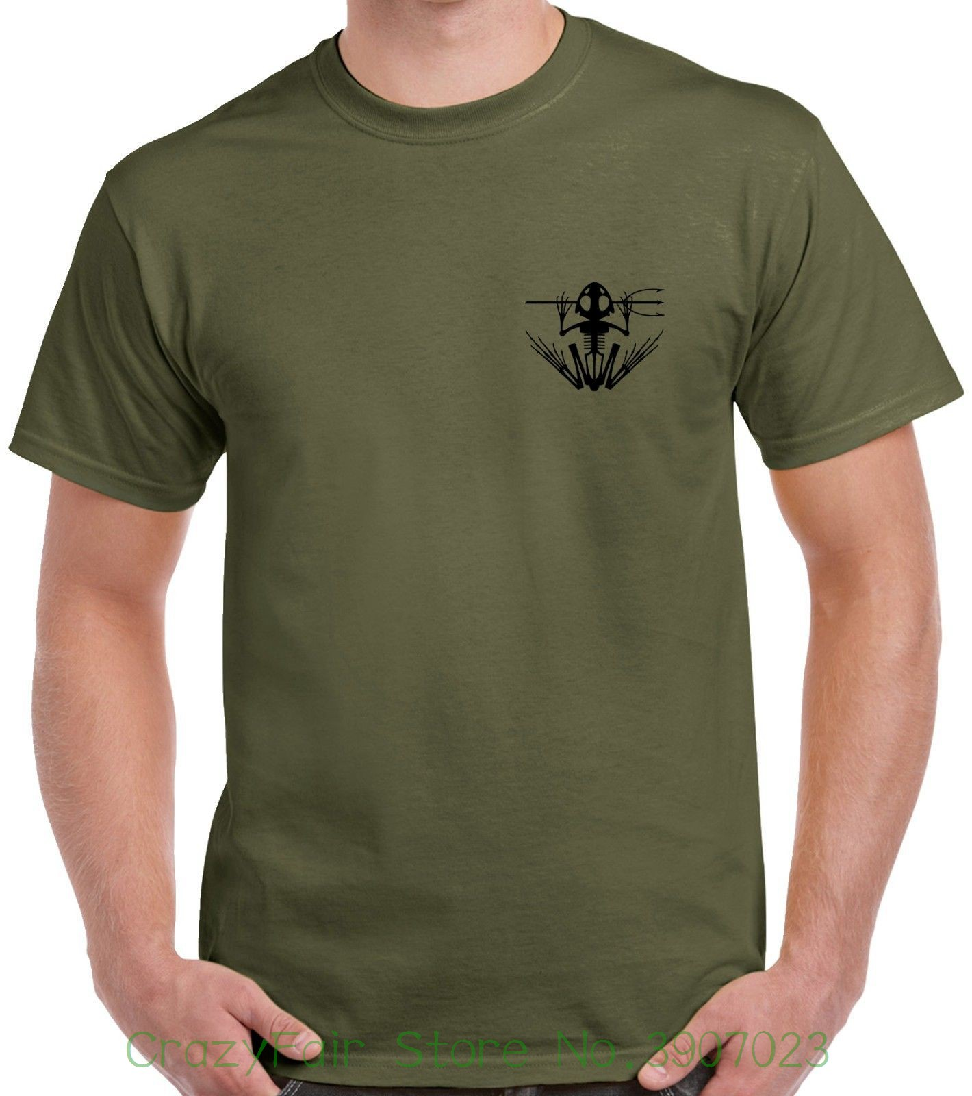 Navy Seal   T  -  shirt   - 2 Sided - Only Easy Day Was Yesterday - 1238 - 2 Summer Style   T     Shirt
