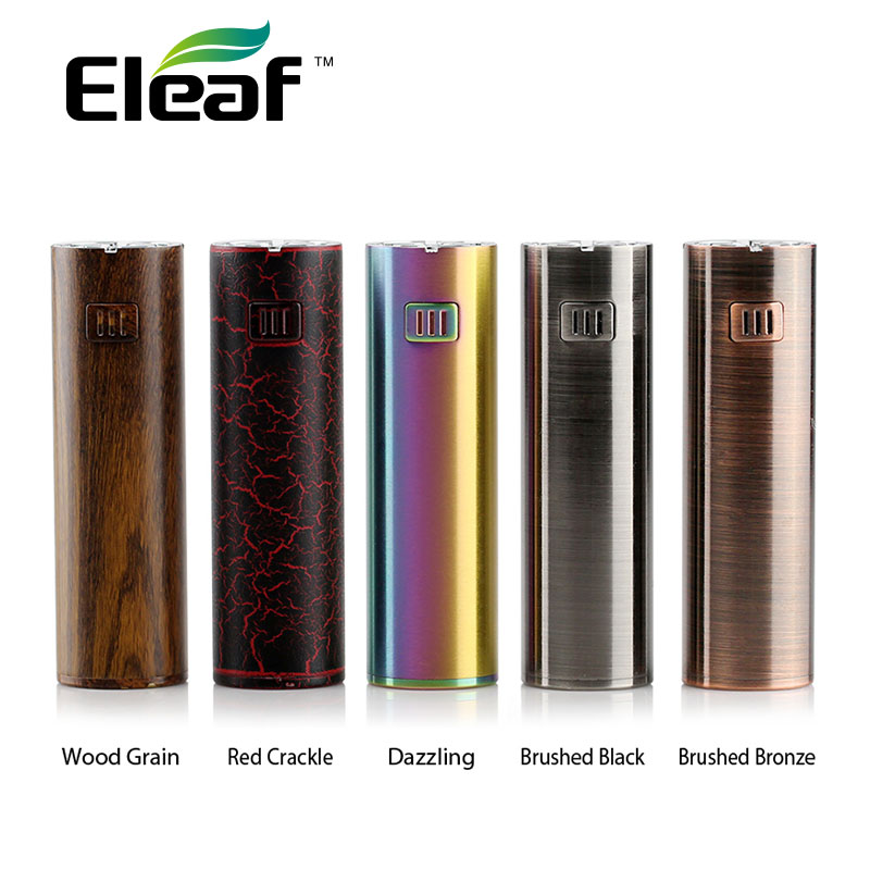100% Original Eleaf iJust S Batterie 3000 mAh Batterie Dual Schaltung Schutz Elektronische Zigarette Vape Batterie Mod Neue Farben
