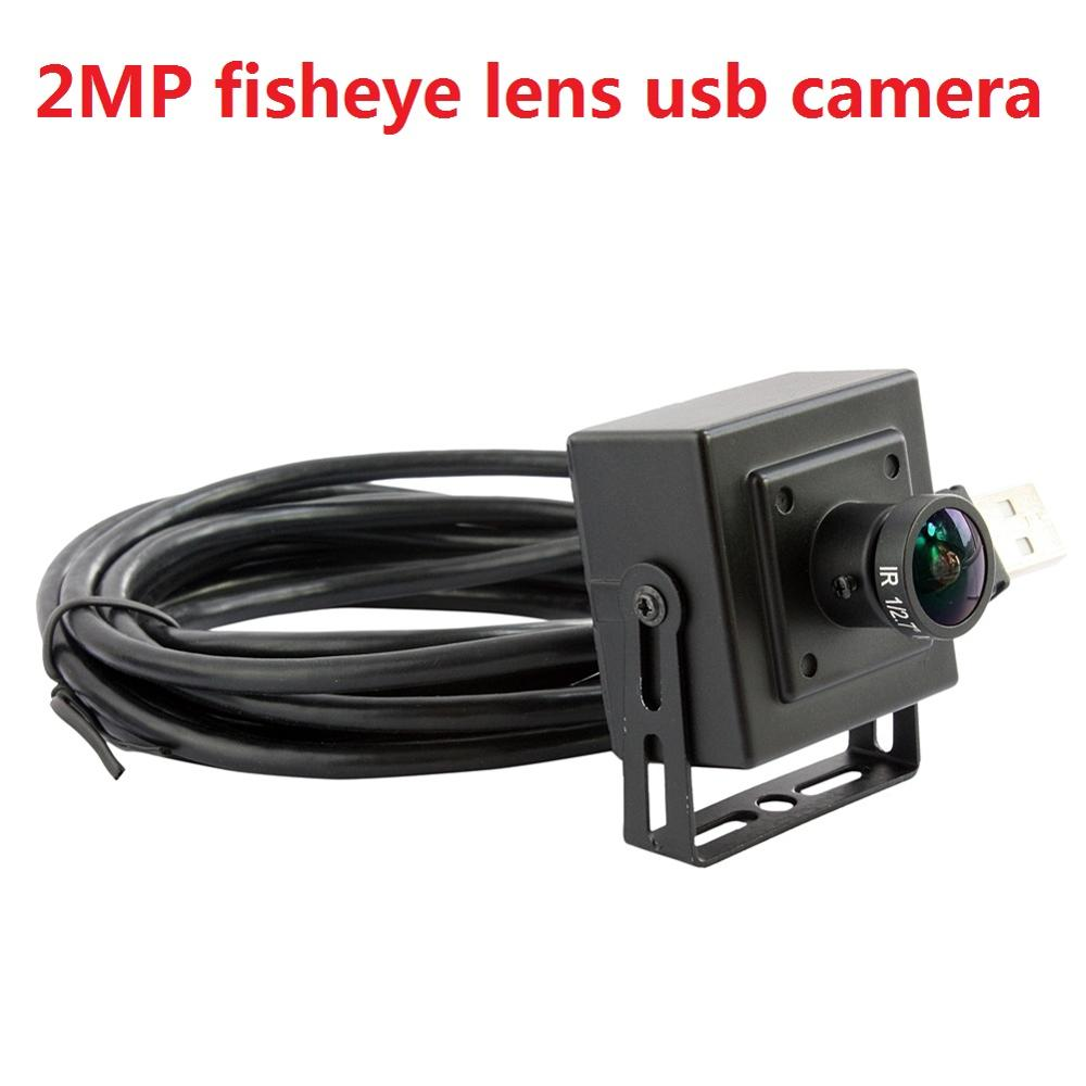 2MP H.264 webcam 170degree wide angle M12 fisheye lens usb camera with 1080P HD resolution for desktop,laptop ,free shipping logitech c930e usb desktop or laptop webcam hd 1080p camera