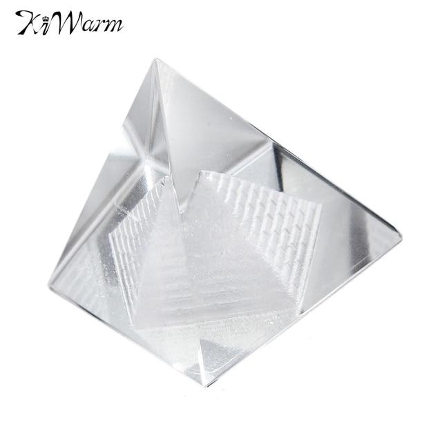 KiWarm Egitto Egiziano Crystal Clear Quarzo Naturale Piramide ...