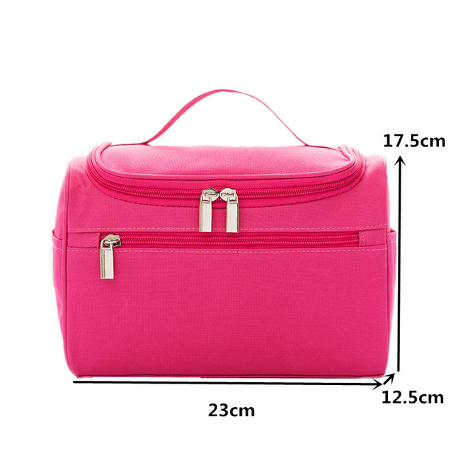Hanging Organizer Cosmetic Bag Case Women Large Toiletry Wash Pouch Box Travel Necessary Vanity Beauty Makeup Storage Accessory 1