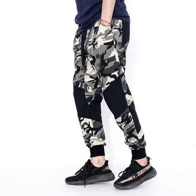 Camuflaje Militar Jogger Pantalones hombres 2017 algodón hombres ...
