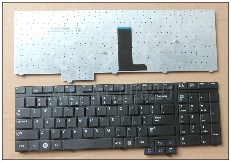 NEW US  notebook laptop Keyboard for Samsung R718 NP-R718 R720 NP-R720 R730 NP-R730  Black BA59-02531C keyboard