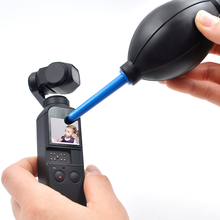 For DJI Osmo Action Dust Blower Cleaner Rubber Air Blower Pump DSLR Camera Lens Cleaning Tools For DJI Osmo Pocket Gimbal 680w electric blower 8300 16300rpm dust blower adjustable air volume dedust tools