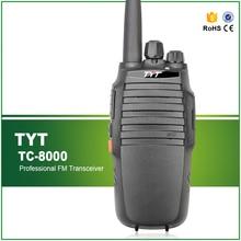 Original 10W Professional TYT TC-8000 UHF 400-520MHZ High Battery Capacity 3600MAH Two Way Radio