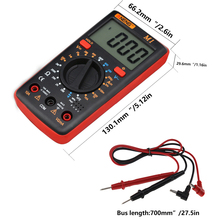 Multifunction 19999 Counts Digital Multimeter NCV Frequency Resistance Auto Power off AC DC Voltage Ammeter Current