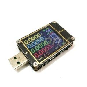 Image 4 - Qway U2p التيار والجهد متر USB تستر QC4 + PD3.0 2.0PPS سرعة تهمة بروتوكول السعة